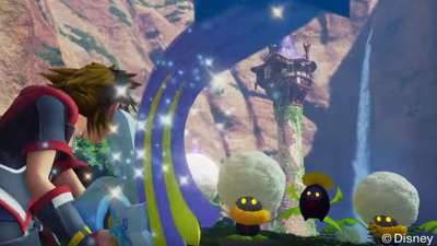 More Kingdom Hearts 3 gameplay shown off in new trailer