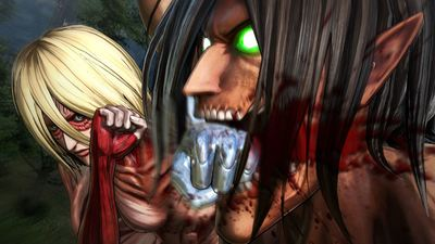 New Attack on Titan screenshots reveal tons of titan action