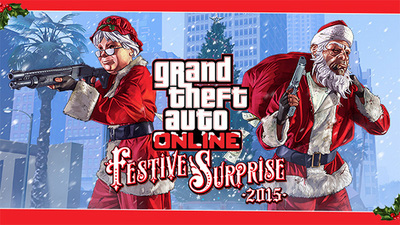 GTA Online celebrates the holidays with 'Festive Surprise 2015'
