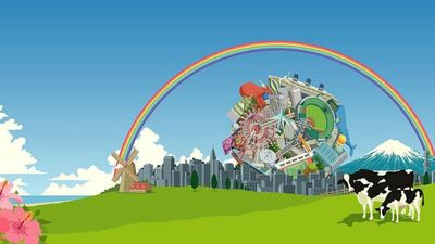 Katamari is back, this time for your pockets
