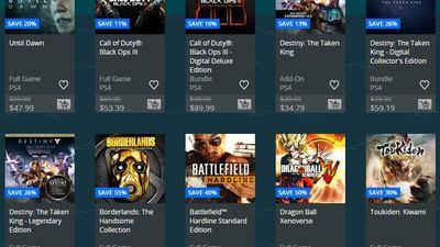 PlayStation Store Week 3 Holiday Sale pages are live