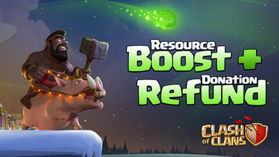 Clahs of Clans one-gem boost now live