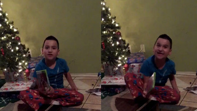 Kid throws tantrum when he gets WWE 2K15 instead of 2K16 on Christmas