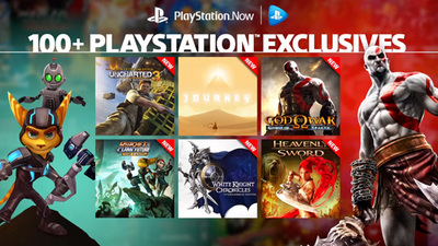 PS Now adds over 40 PS3 exclusive titles to its subscription