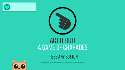 ACT IT OUT! brings digital charades to PS4