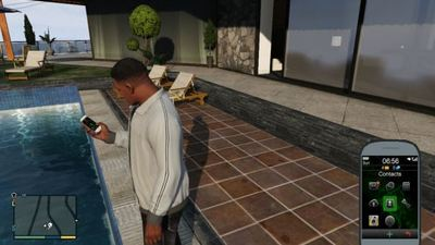Players discover hidden GTA 5 cellphone trick