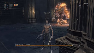 Bloodborne player defeats bosses without dashing or rolling