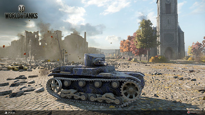 World of Tanks PS4 launch date announced