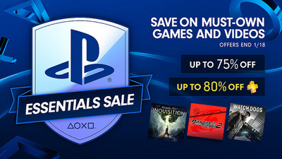 PlayStation Essentials Sale discounts 'must-have' games