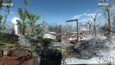 Fallout 4 mod adds changing seasons, and it's glorious