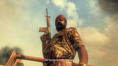 Activison facing lawsuit over Black Ops 2's portrayal of 'halfwit, barbarian' rebel leader