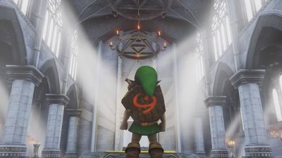Legend of Zelda's Temple of Time recreated in Unreal Engine 4 and you can play it