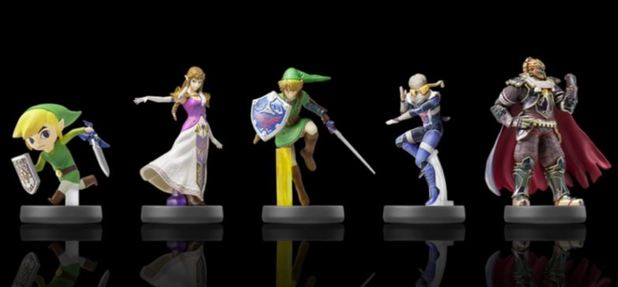 Here's what Ganonforf, Zelda, and Link amiibo will do in Twilight Princess HD