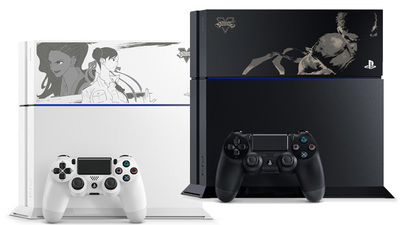 Sony reveals four limited edition Street Fighter V-themed PS4s