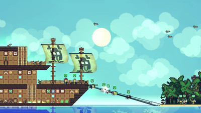 Pirate simulator Pixel Piracy headed to Xbox One and PS4