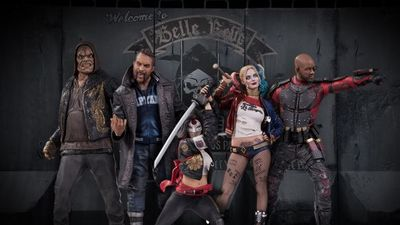 Brand new Suicide Squad statues revealed