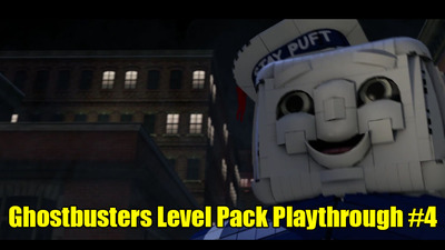 LEGO Dimensions: Ghostbusters Level Pack Playthrough #4