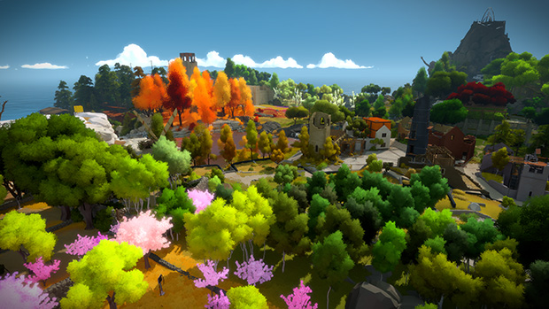 The Witness islands