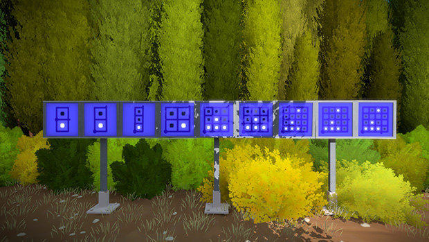 The Witness line puzzles