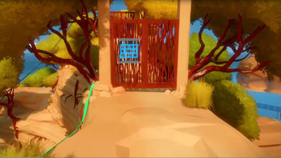The Witness: Symmetry (line mirroring) Puzzle Walkthrough