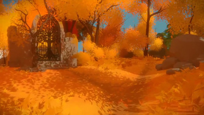 The Witness: Shady Trees Puzzle Walkthrough