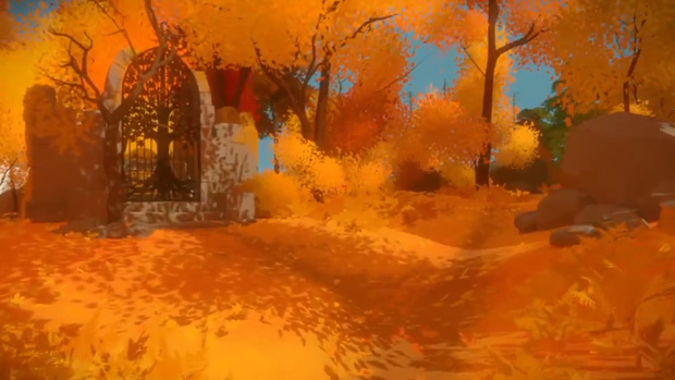 The Witness - Shady Trees puzzle