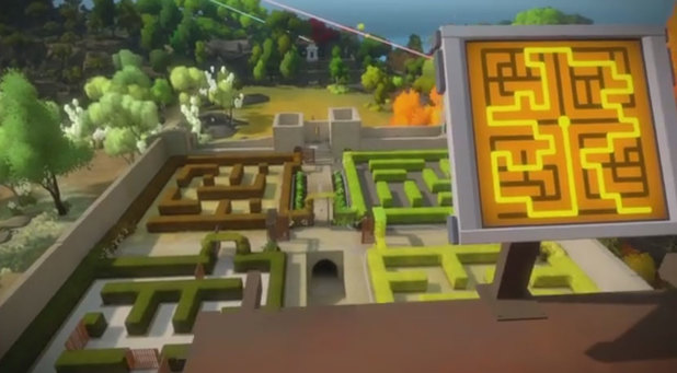 The Witness: The Keep (Hedge Maze) Walkthrough