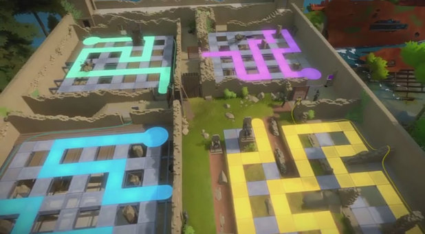 The Witness The Keep Platform Activation