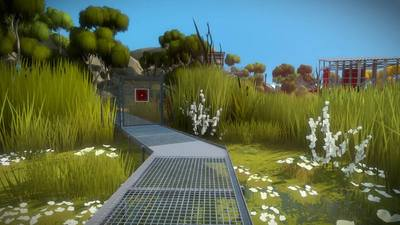 The Witness: Marsh (Tetris Block Puzzles) Walkthrough