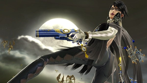 Bayonetta in Super SMash Bros.