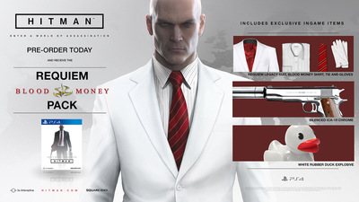 Hitman Collector's Edition and PS4 exclusive missions detailed