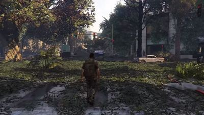 This mod turns GTA 5 into The Last of Us