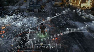 The Division's map might feel small, but it's just as big as Fallout 4's