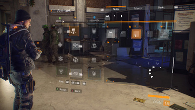 The Division's Skills explained