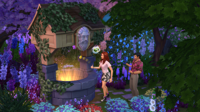 The Sims 4 Wishing Well