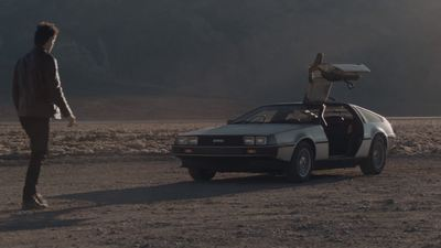 Here it is, the first advertisement for the DeLorean DMC comeback