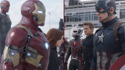 Captain America: Civil War's Super Bowl spot wants you to choose your side