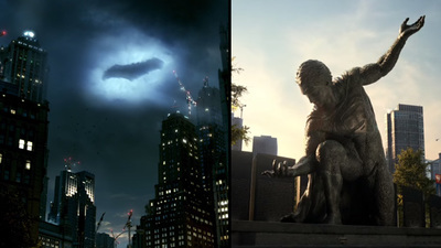 Batman v Superman TV spots invite you to fly to Gotham City and Metropolis