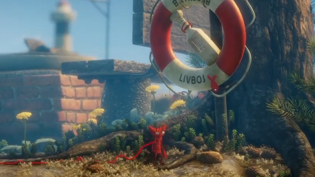 Unravel - Down by the Sea level walkthrough