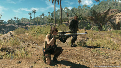 Metal Gear Online 'Cloaked in Silence' DLC features a familiar face