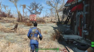 Fallout 4's latest patch improves console graphics