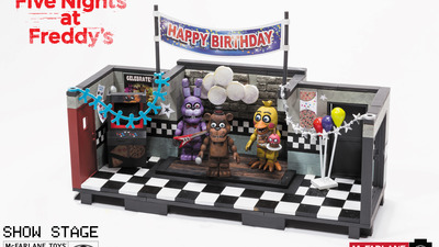 McFarlane Toys  to release construction sets based on the smash-hit horror series, Five Nights at Freddy's