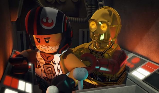 Star Wars: The Force Awakens gets a LEGO prequel mini-series