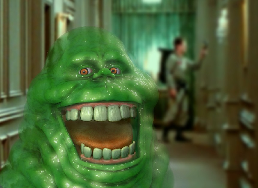 Slimer will be returning in upcoming Ghostbusters reboot