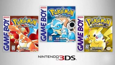 eShop releases of Pokemon Red, Blue, Yellow will be compatible with Pokemon Bank