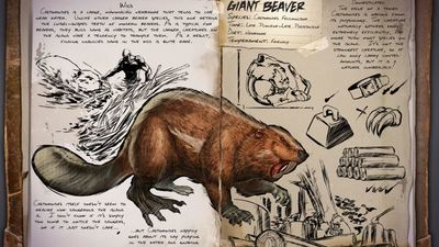 Upcoming ARK: Survival Evolved Xbox One update adds giant beavers