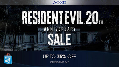 The PlayStation Store is currently holding a mega 20th anniversary sale for Resident Evil