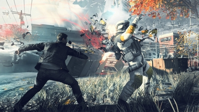 Catch a sneak peek of Quantum Break gameplay right here