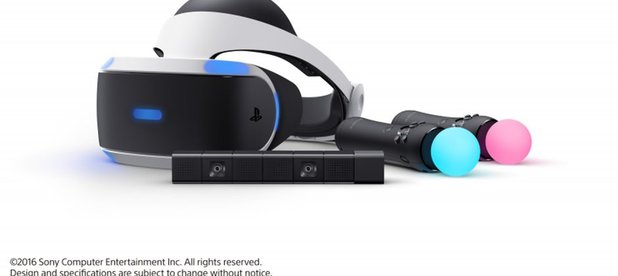 PlayStation VR requires PS4 camera, must purchase separately