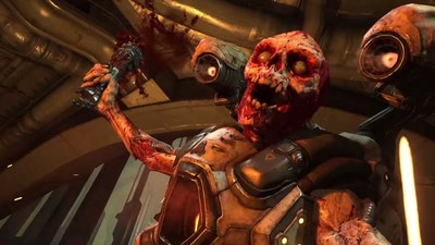 DOOM multiplayer maps explored in latest trailer
